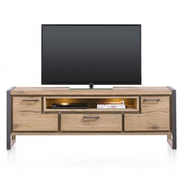 tv-lowboard lowboard mediamöbel holz metall design