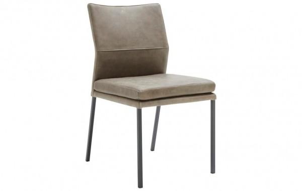 Stuhl 4-Beinig Oliv XL