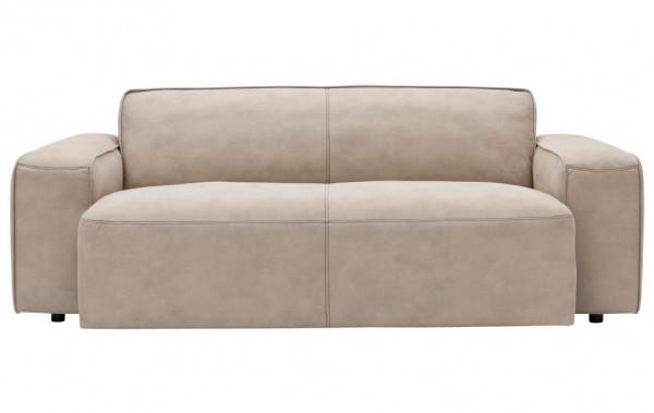 Sofa beige hell 2,5 Sitzer sitztiefenverstellung motorische verstellung