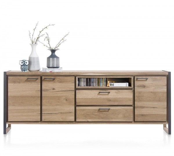 Sideboard Metall Holz Mix Large Metalo Henders Hazel Sideboards