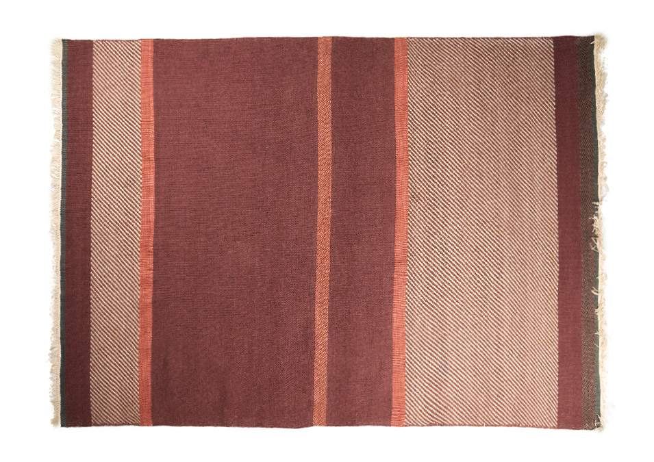 teppich rot wolle xcm linie design unit moebel wikinger