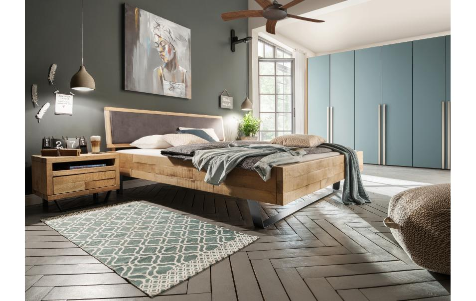 bettrahmen timber look natura tennessee betten schlafzimmer m bel wikinger. Black Bedroom Furniture Sets. Home Design Ideas