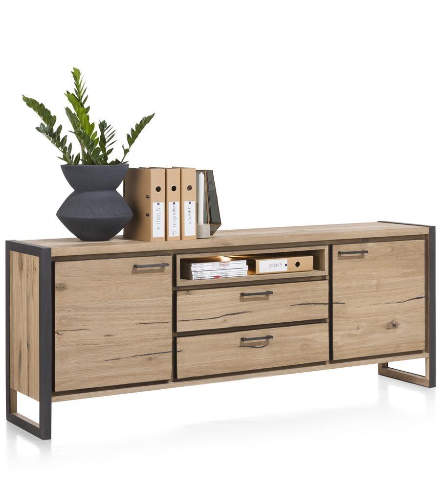 sideboard metall holz mix 2 gr en metalo henders hazel. Black Bedroom Furniture Sets. Home Design Ideas