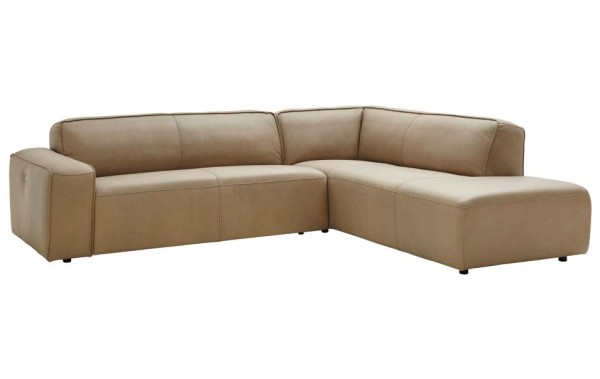 ecksofa sand leder natura denver sofas couchen wohnzimmer m bel wikinger. Black Bedroom Furniture Sets. Home Design Ideas