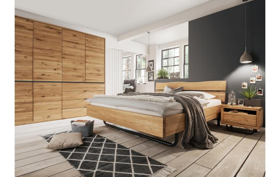 eichenkopfteil natura tennessee betten schlafzimmer m bel wikinger. Black Bedroom Furniture Sets. Home Design Ideas