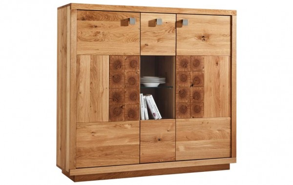 Highboard Wildeiche NATURA Wisconsin